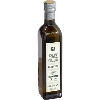 Olivolja Classico Extra Virgin 500ml Garant