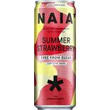Naia Summer Strawberry Energidryck Burk Naia 33cl