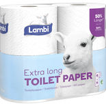Toalettpapper Extra Lång Lambi 4st