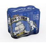 Pripps Blå 3.5% Folköl Pripps Blå 6p/50cl