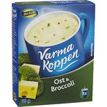 Varma Koppen Ost & Broccoli Pulver Blå Band 3p/6dl