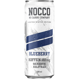 Blueberry Limited Åre Edition Sockerfri Burk 33cl Nocco