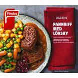Pannbiff Potatis Löksås Fryst Findus 400g/1p