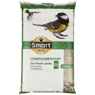 Solrosfrön 2.5kg Smart Pets