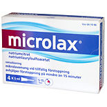 Microlax Vid Förstoppning Rektallösning Tub Mcneil 4p