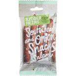 Snacks Salami Sourcream&onion Ridderheims 70g