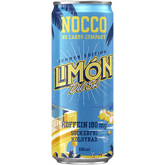 Limon Bcaa Energidryck Burk 33cl Nocco