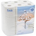 Vitt Mjukt Toalettpapper Fixa 18p