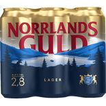 Norrlands Guld 2.8% Folköl Norrlands Guld 6p/50cl