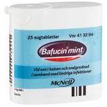 Bafucin Mint Halstabletter Mcneil 25st