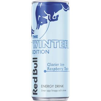 Winter Edition Glacier Ice Energydryck Burk 25cl Red Bull