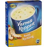 Varma Koppen Redd Kyckling Pulver Blå Band 3p/6dl