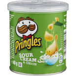 Chips Sourcream & Onion Pringles 40g