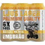 Emd Bräu 6-pack Öl 2.8% Emd Bräu 6p/50cl