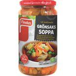 Grönsakssoppa Findus 490g/7.5