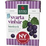 Svarta Vinbär Bärdryck Koncentrat 1+4 Kiviks Musteri 2dl