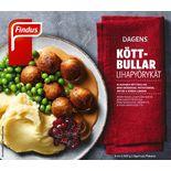 Köttbullar Potatismos Fryst Findus 400g/1p
