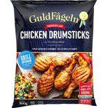 Chicken Drumsticks Grillade Frysta Guldfågeln 500g