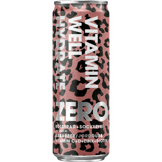 Hydrate Zero Vitamin Well Burk 35.5cl Vitamin Well