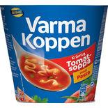 Varma Koppen Krämig Tomatsoppa Pasta Blå Band 1p/2,5dl
