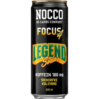Legend Soda Focus Energidryck Burk 33cl Nocco