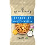 Bondbönor Rostade Sourcream & Onion Dave & Jon's 100g