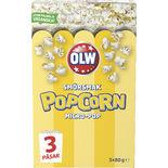 Micropop Smör Popcorn Olw 3x80g