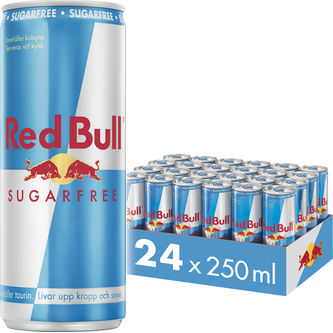 Red Bull Sf Sugarfree Energydryck Burk 25cl Red Bull