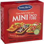 Taco Tubs Mini Santa Maria 14p/120g