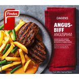 Angusbiff Med Pommes Grillad Fryst Findus 380g/1p