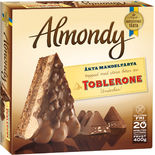 Mandeltårta Toblerone Glutenfri Fryst Almondy 400g