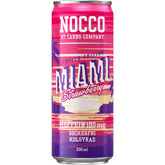 Miami Strawberry Burk 33cl Nocco