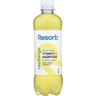 Recharge Fläder Lime Vätskeersättning 50cl Resorb