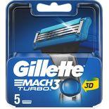 Mach3 Turbo Blad Gillette 5st