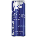 Blue Edition Blåbärssmak Energydryck Burk Red Bull 25cl