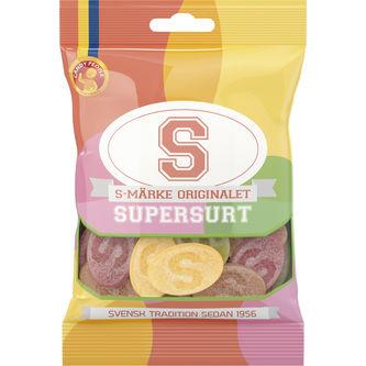 S-märke Supersurt 80g Candy People