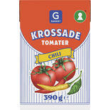 Krossade Tomater Chili Garant 390g