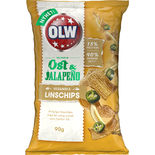 Linschips Ost & Jalapeno Olw 90g