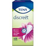Discreet Ultra Mini Trosskydd Tena 28st